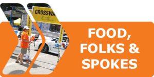 Click to Volunteer at Food, Folks & Spokes