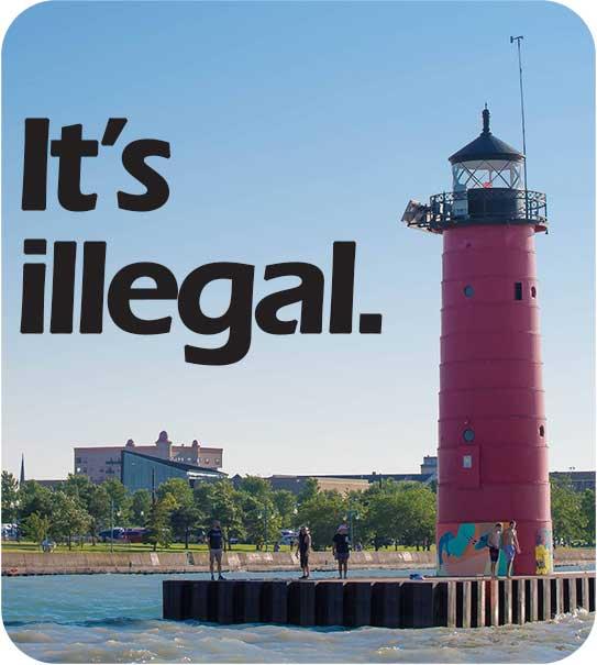It's Illegal, Icon